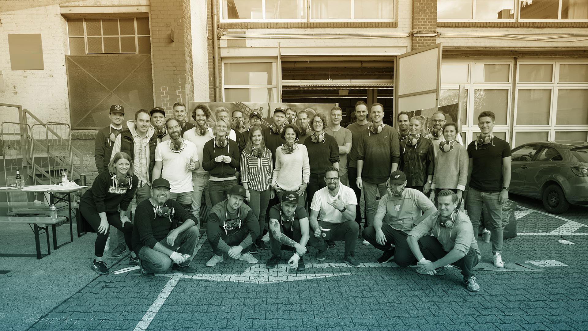 Sportmarkting Agentur Apollo18 Teambild